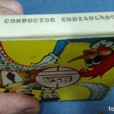 Juguetes Antiguos: PELICULA SUPER 8. DE BIANCHI S.A. CONDUCTOR ENDIABLADO DE STAN LAUREL Y OLIVER HARDY. BYN. Lote 194149963