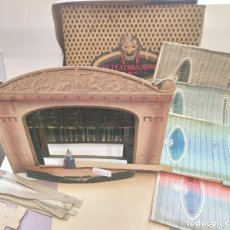 Juguetes Antiguos: EL TEATRO DE LOS NIÑOS C.B.N NUALART- MODELOS BB-CC-Y M. SEIX & BARRAL HERMS. 1920S.PRE-CINE.. Lote 194334313