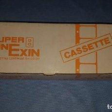 Juguetes Antiguos: CAJA VACÍA PELÍCULAS CINE EXIN SUPER 8 PARA 6 CASSETTES . Lote 194599680