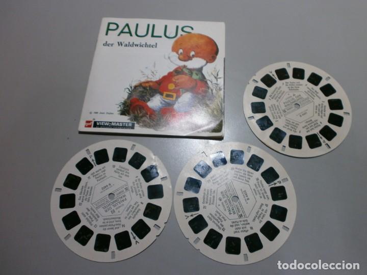 VIEW MASTER PELICULA PAULUS AÑOS 50 60 (Juguetes - Pre-cine y Cine)