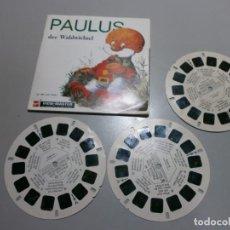 Juguetes Antiguos: VIEW MASTER PELICULA PAULUS AÑOS 50 60. Lote 195074825