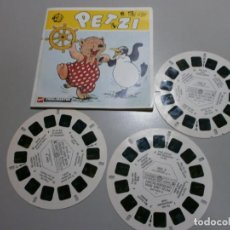 Juguetes Antiguos: VIEW MASTER PELICULA PETZI AÑOS 50 60. Lote 195074890