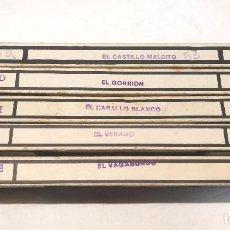 Juguetes Antiguos: NIC SONORO AÑOS 30 PRIMERA EDICIÓN LOTE 5 PELÍCULAS. Lote 195394005