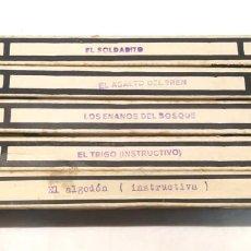 Juguetes Antiguos: NIC SONORO AÑOS 30 PRIMERA EDICIÓN LOTE 5 PELÍCULAS. Lote 195394540