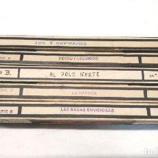 Juguetes Antiguos: NIC SONORO AÑOS 30 PRIMERA EDICIÓN LOTE 5 PELÍCULAS. Lote 195395260