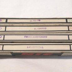 Juguetes Antiguos: NIC SONORO AÑOS 30 PRIMERA EDICIÓN LOTE 4 PELÍCULAS COLOR. Lote 195395715