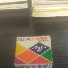 Juguetes Antiguos: CARRETE NUEVO AGFACHROME SUPER 8 A ESTRENAR. Lote 195417423