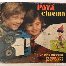 Juguetes Antiguos: CINEMA PAYÁ CON PELÍCULA LA PANTERA ROSA SUPER 8. Lote 196290743