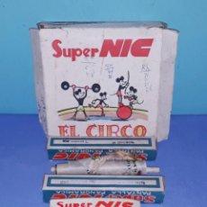 Juguetes Antiguos: 3 PELICULAS DEL CINE SUPER NIC ORIGINALES. Lote 201362292