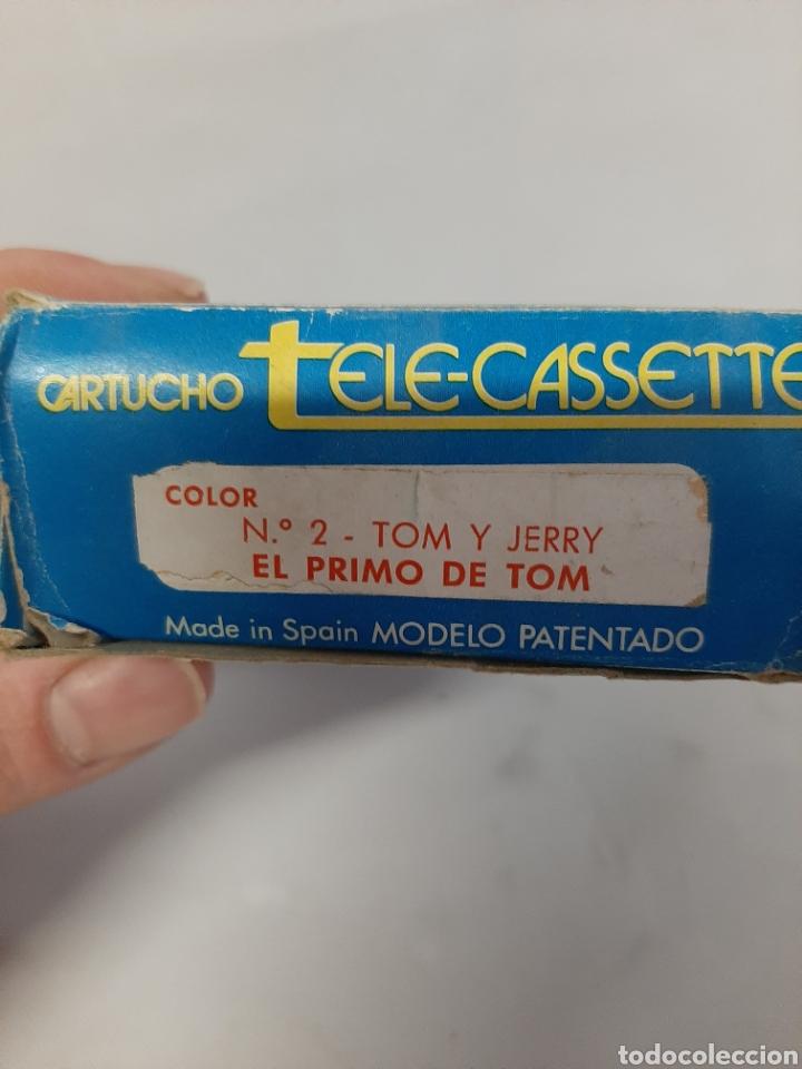 Juguetes Antiguos: Cartucho de tele-cassette de la marca pacta, n⁰2, Tom y Jerry. - Foto 2 - 202891206