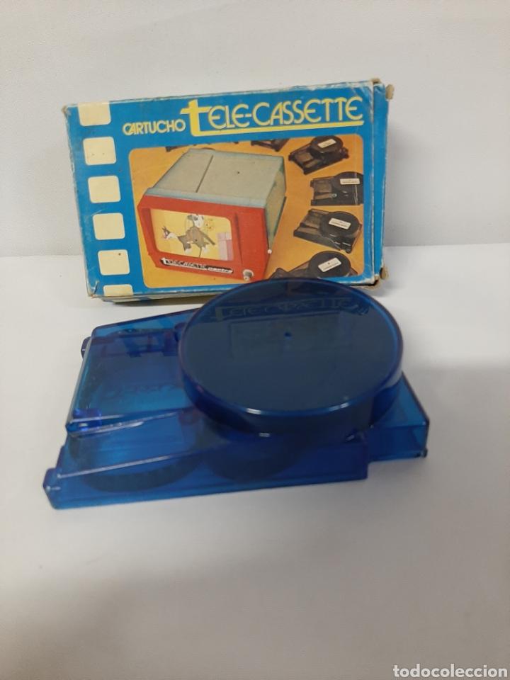 Juguetes Antiguos: Cartucho de tele-cassette de la marca pacta, n⁰2, Tom y Jerry. - Foto 3 - 202891206