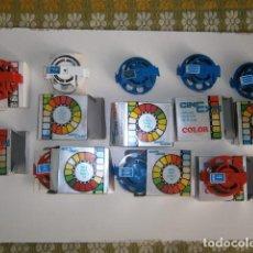 Brinquedos Antigos: LOTE PELICULAS SUPER 8MM DE CINE EXIN EN CAJA ORIGINAL. Lote 203108657