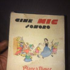 Brinquedos Antigos: CAJA CON 6 PELICULAS CINE NIC,BLANCA NIEVES!. Lote 203543886