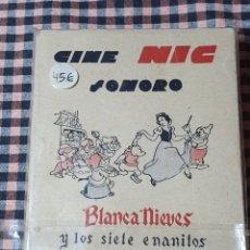 Juguetes Antiguos: CINE NICOLÁS SONORO BLANCA NIEVES Y LOS SIETE ENANITOS, ESTUCHE COMPLETO 6 PELÍCULAS.. Lote 204097815