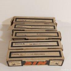 Juguetes Antiguos: LOTE DE 5 PELÍCULAS DE CINE NIC DE CLASICOS DE DISNEY.. Lote 206326358