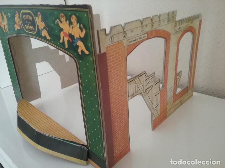 Juguetes Antiguos: TEATRO TEATRILLO PARA NIÑOS SEIX I BARRAL LLAMADO LOS ANGELITOS MÁS 3 OBRAS - Foto 5 - 206865598