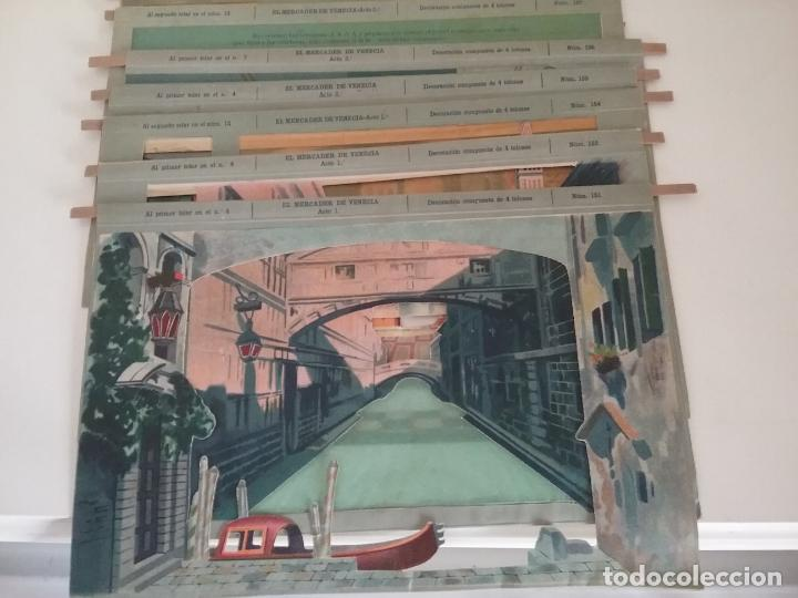 Juguetes Antiguos: TEATRO TEATRILLO PARA NIÑOS SEIX I BARRAL LLAMADO LOS ANGELITOS MÁS 3 OBRAS - Foto 6 - 206865598