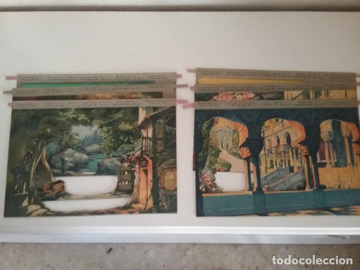 Juguetes Antiguos: TEATRO TEATRILLO PARA NIÑOS SEIX I BARRAL LLAMADO LOS ANGELITOS MÁS 3 OBRAS - Foto 7 - 206865598