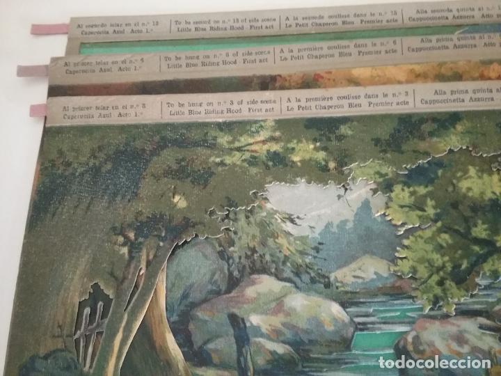 Juguetes Antiguos: TEATRO TEATRILLO PARA NIÑOS SEIX I BARRAL LLAMADO LOS ANGELITOS MÁS 3 OBRAS - Foto 8 - 206865598