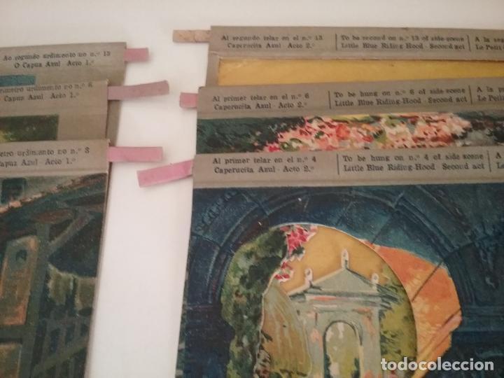 Juguetes Antiguos: TEATRO TEATRILLO PARA NIÑOS SEIX I BARRAL LLAMADO LOS ANGELITOS MÁS 3 OBRAS - Foto 9 - 206865598