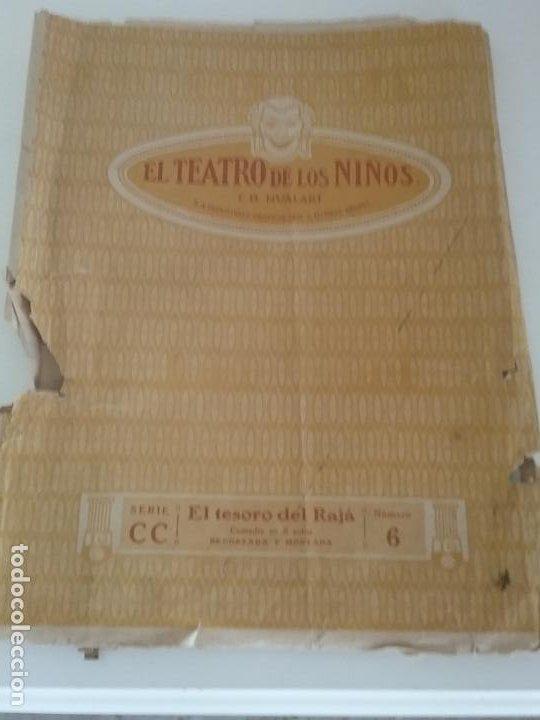 Juguetes Antiguos: TEATRO TEATRILLO PARA NIÑOS SEIX I BARRAL LLAMADO LOS ANGELITOS MÁS 3 OBRAS - Foto 10 - 206865598