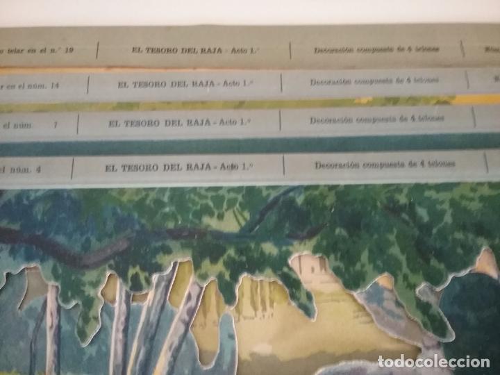 Juguetes Antiguos: TEATRO TEATRILLO PARA NIÑOS SEIX I BARRAL LLAMADO LOS ANGELITOS MÁS 3 OBRAS - Foto 12 - 206865598