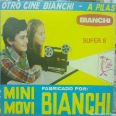 Juguetes Antiguos: PROYECTOR DE CINE MINI MOVI BIANCHI SUPER 8, DE BIANCHI, A ESTRENAR. Lote 207028182