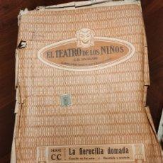 Juguetes Antiguos: LA FIERECILLA DOMADA. EL TEATRO DE LOS NIÑOS. Lote 207145528