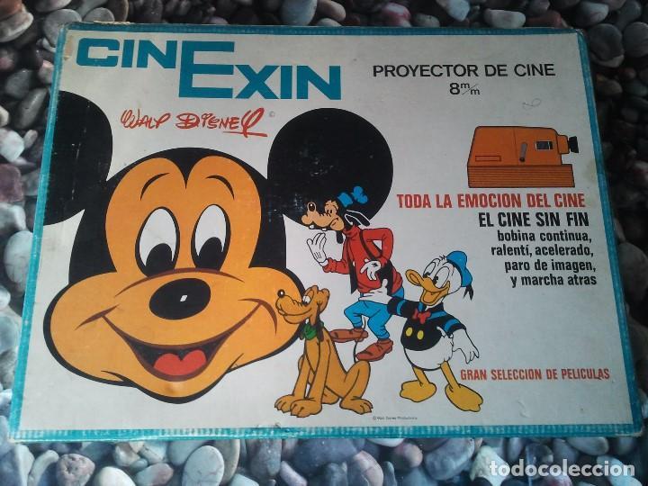 PROYECTOR INFANTIL ANTIGUO DE LOS AÑOS 70 CINEXIN EL CINE SIN FIN. RETRO JUGUETE DE PELICULA CONTINU (Juguetes - Pre-cine y Cine)
