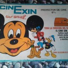Juguetes Antiguos: PROYECTOR INFANTIL ANTIGUO DE LOS AÑOS 70 CINEXIN EL CINE SIN FIN. RETRO JUGUETE DE PELICULA CONTINU. Lote 207431458