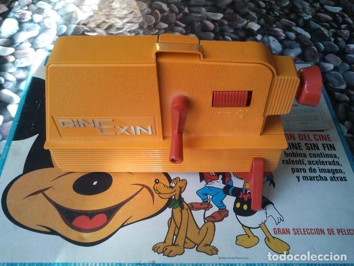 Juguetes Antiguos: Proyector infantil antiguo de los años 70 Cinexin el cine sin fin. Retro juguete de pelicula continu - Foto 6 - 207431458