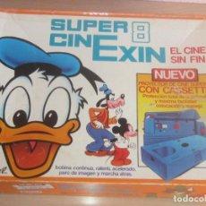 Juguetes Antiguos: SUPER CINEXIN CON CAJA Y 6 PELICULAS CINEXIN EN MUY BUEN ESTADO, FUNCIONANDO Y SIN OXIDO. Lote 209744347