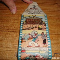 Brinquedos Antigos: (TC-110) PELICULA CINELIN 2 PROGRAMA POPEYE PESCADOR DE BALLENAS PRECINTADA. Lote 209917900
