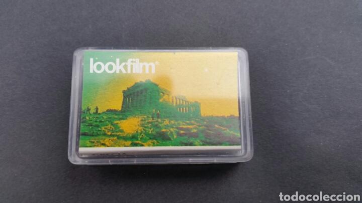 Juguetes Antiguos: PROYECTOR LOOKMOVIE. LOOKFILM Y 3 CAJITA microfilm - Foto 5 - 210317673