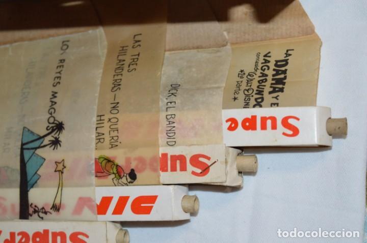 Juguetes Antiguos: ANTIGUO y VINTAGE - CINE Super NIC - Con 4 PELÍCULAS variadas - FUNCIONANDO - ¡Mira fotos/detalles! - Foto 11 - 210648102