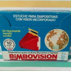 Juguetes Antiguos: BIMBOVISION 1976 + 49 DIAPOSITIVAS + AGENDA. Lote 212768038