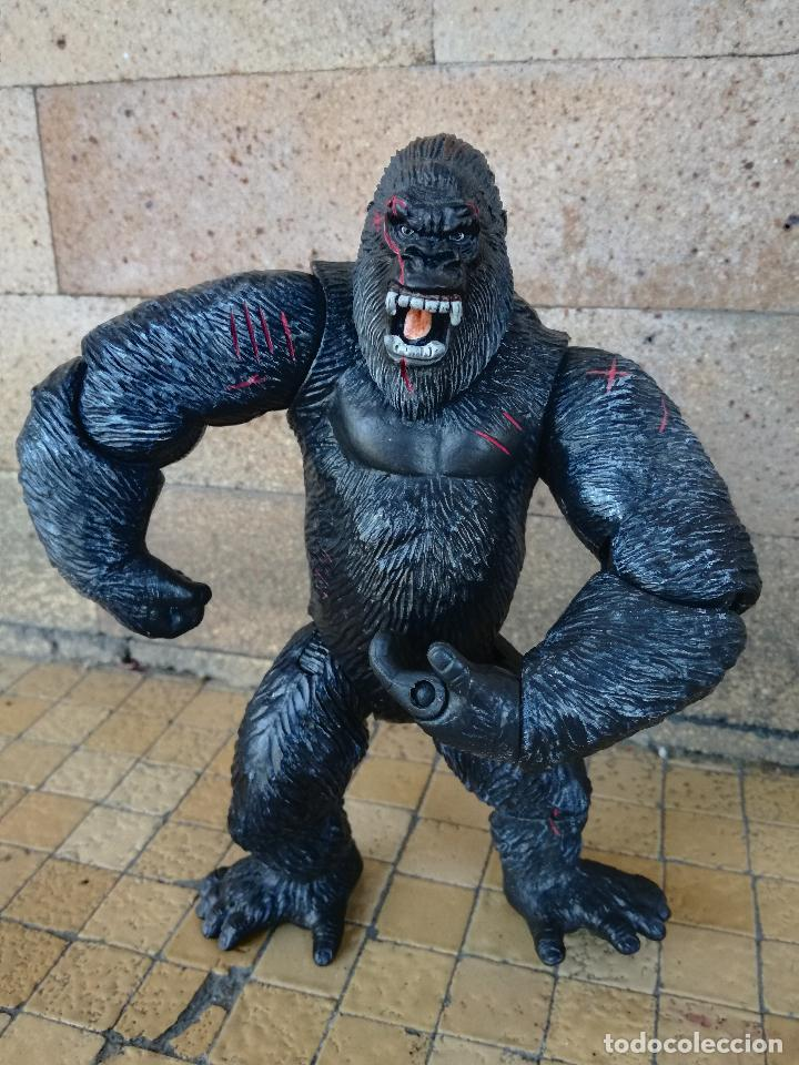 MUÑECO KING KONG UNIVERSAL STUDIOS 2005 PLAYMATES TOYS - THE 8TH WONDER OF THE WORLD. FIGURA 16 CM (Juguetes - Pre-cine y Cine)