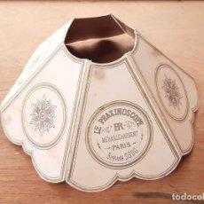 Juguetes Antiguos: REPRODUCCIÓN DE LA PANTALLA DEL PRAXINOSCOPIO. ÉMILE REYNAUD.. Lote 214807440