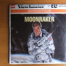 Jouets Anciens: VIEW MASTER - MOONRAKER - VIEWMASTER VINTAGE PACK K68 - COMPLET - REDDISH TINT. Lote 220173201