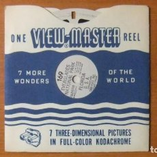 Giocattoli Antichi: VIEW MASTER - EVERGLADES N.PARK - VIEWMASTER VINTAGE - SINGLE REELS Nº169- SAWYER'S. Lote 220625600