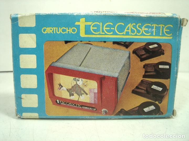 Juguetes Antiguos: PELICULA TELE-CASETTE CARTUCHO-PACTRA SPAIN AÑOS 70-TOM Y JERRY PERSECUCION SOBRE HIELO CASETE N.4 1 - Foto 3 - 221829821