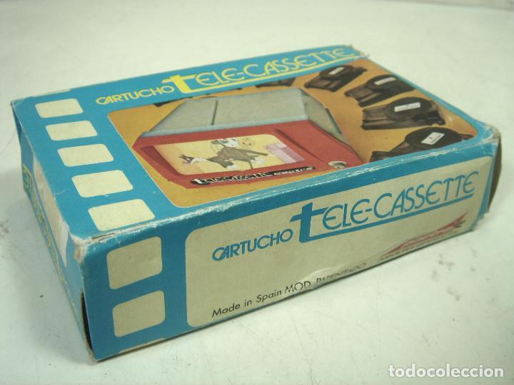 Juguetes Antiguos: PELICULA TELE-CASETTE CARTUCHO-PACTRA SPAIN AÑOS 70-TOM Y JERRY PERSECUCION SOBRE HIELO CASETE N.4 1 - Foto 4 - 221829821