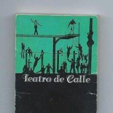 Juguetes Antiguos: PRE-CINE. ANTIGUO LIBRITO DE MOVIMIENTO DE IMÁGENES. TEATRO DE CALLE. AÑO 1900/1920. RARA PIEZA.. Lote 221845576