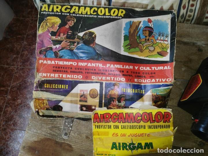 Juguetes Antiguos: PROYECTOR AIRGAM COLOR - Foto 3 - 221859307