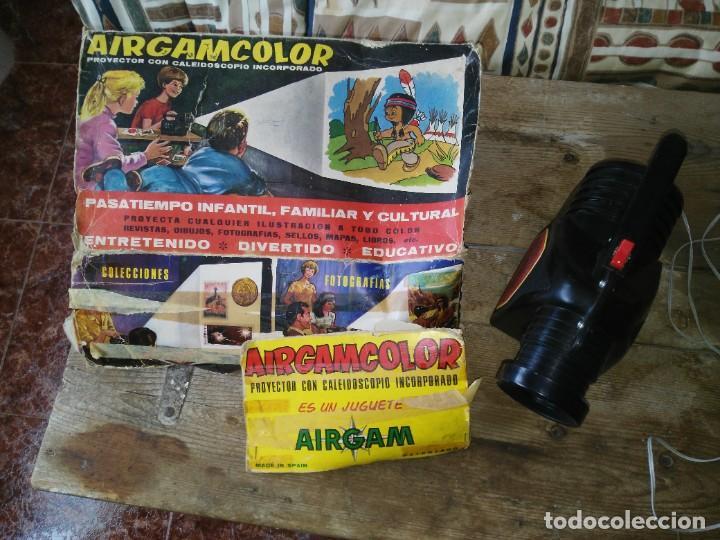 Juguetes Antiguos: PROYECTOR AIRGAM COLOR - Foto 4 - 221859307