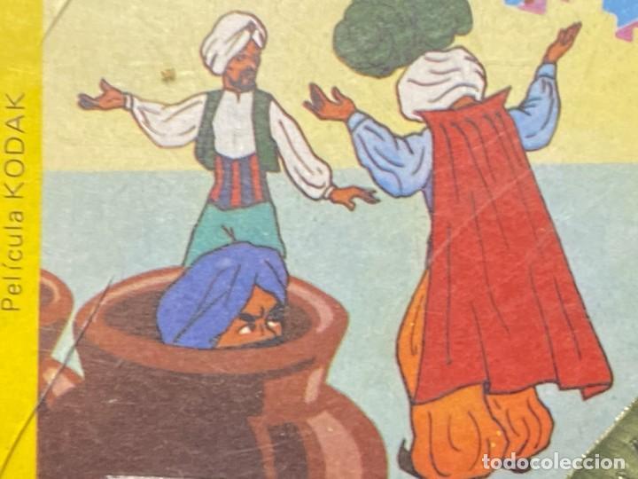 Juguetes Antiguos: PELICULA KODAK IRISCOLOR BARCELONA INFANTIL ALI BABA Y 40 LADRONES 8MMCOLOR 9X9CMS - Foto 4 - 222010792