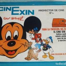 Juguetes Antiguos: CINEXIN CINE EXIN - PROYECTOR + PELICULA GOOFY EN TORNEO Y +++ VER DETALLES CONCRETOS EN DESCRIPCION. Lote 222089827