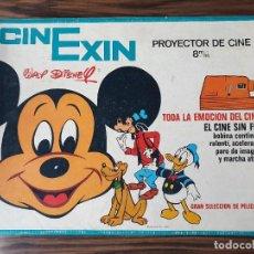 Brinquedos Antigos: CINEXIN NARANJA AÑOS 70 CON 4 PELICULAS. Lote 222682605