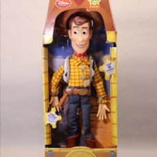 Juguetes Antiguos: MUÑECO WOODY TOY STORY PARLANTE. Lote 228018770