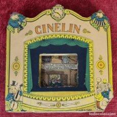 Brinquedos Antigos: CINE CINELIN. TIPOGRAFIA EMPORIUM. CARTONÉ ILUSTRADO. ESPAÑA. 1930.. Lote 230023565